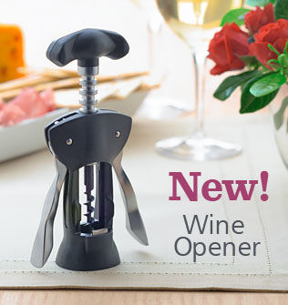 New Wine Opener from Cutco