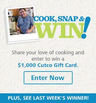 Cutco's Cook, Snap & Win