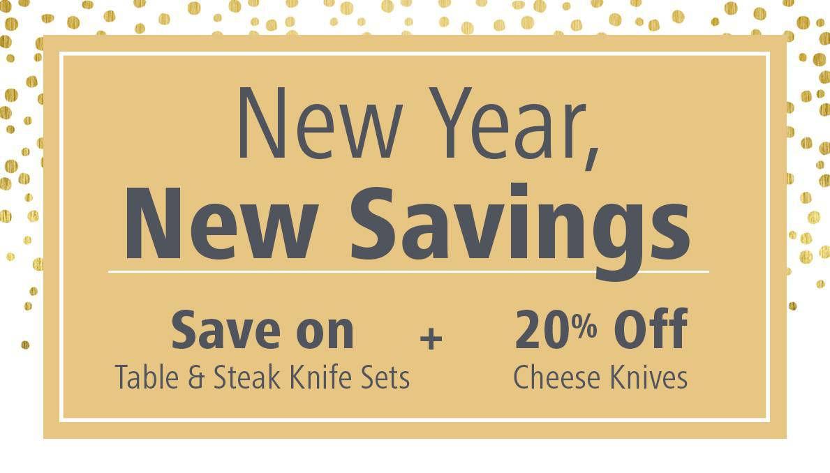 New Years Savings
