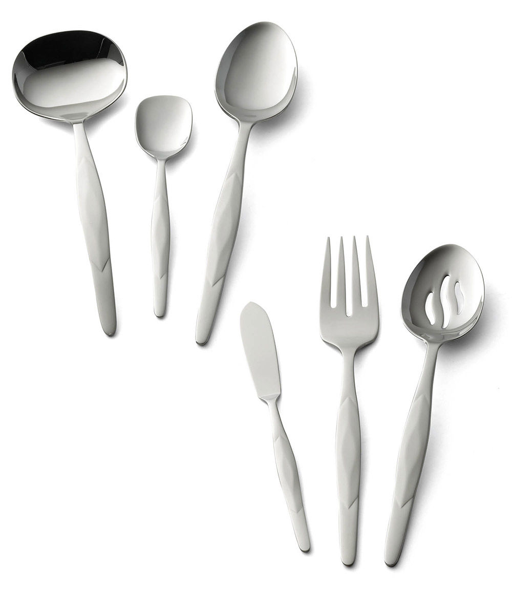 American Made Kitchen Utensils 6 Pc Stainless Accessory Set Serving Utensils By Cutco