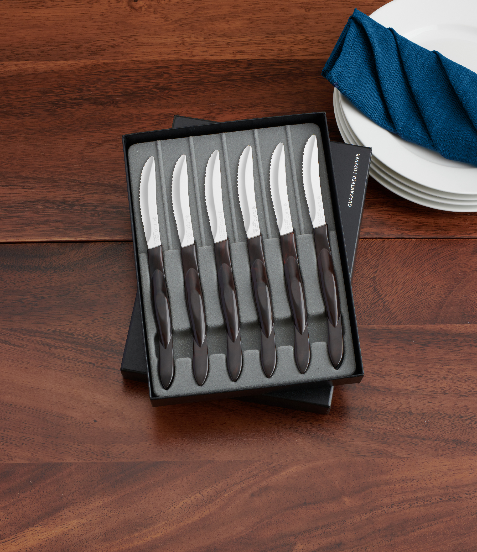 6 Pc. Table Knife Set In Gift Box