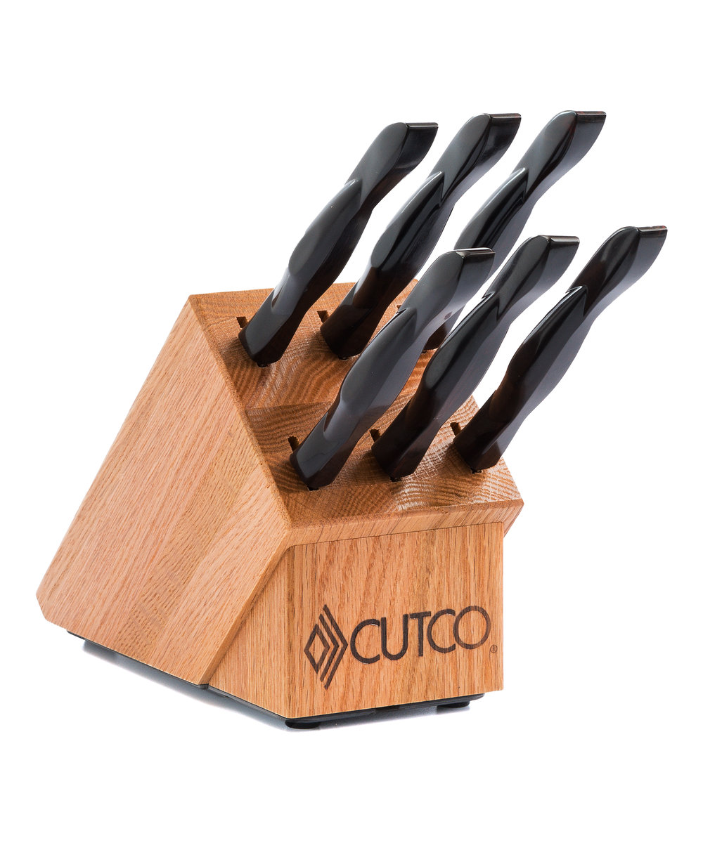 6 Pc. Table Knife Set With Block