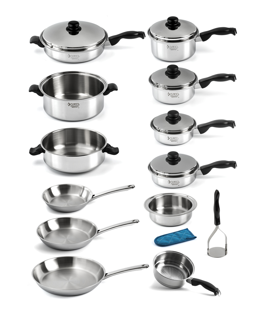 accomplished chef cookware set cookware by cutco. Black Bedroom Furniture Sets. Home Design Ideas