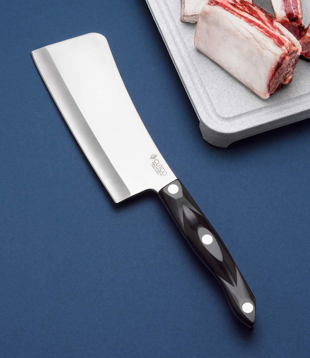 cleaver kitchen knives by cutco cleaver with sheath