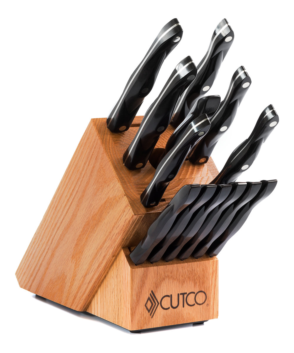 Galley 6 Set With Block 15 Pieces Knife Block Sets
