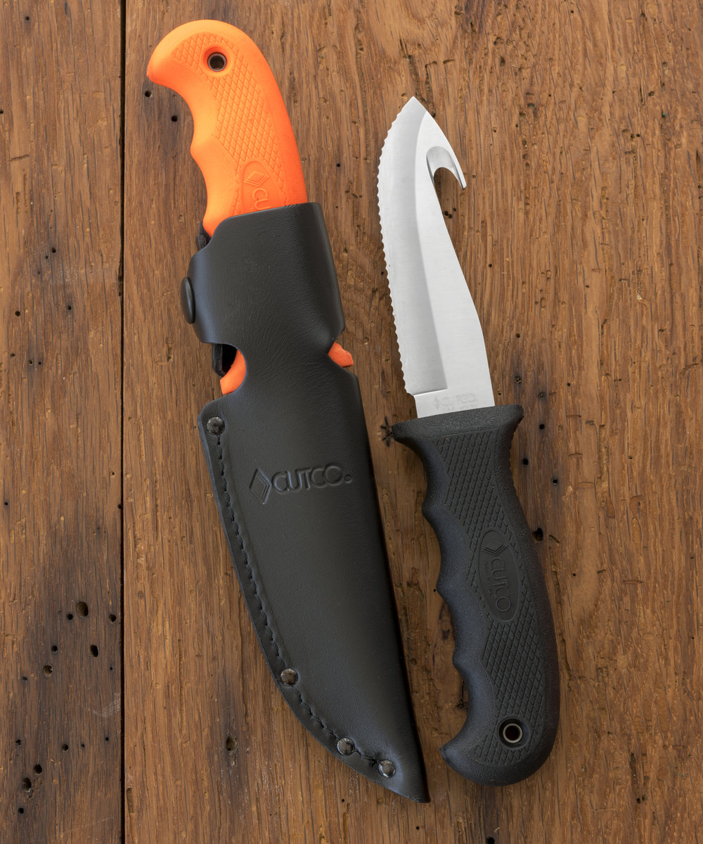 gut hook hunting knife sporting knives by cutco gut hook hunting knife