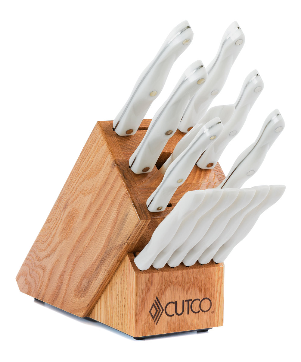 Galley + 6 Set with Block | 15 Pieces | Knife Block Sets by Cutco on