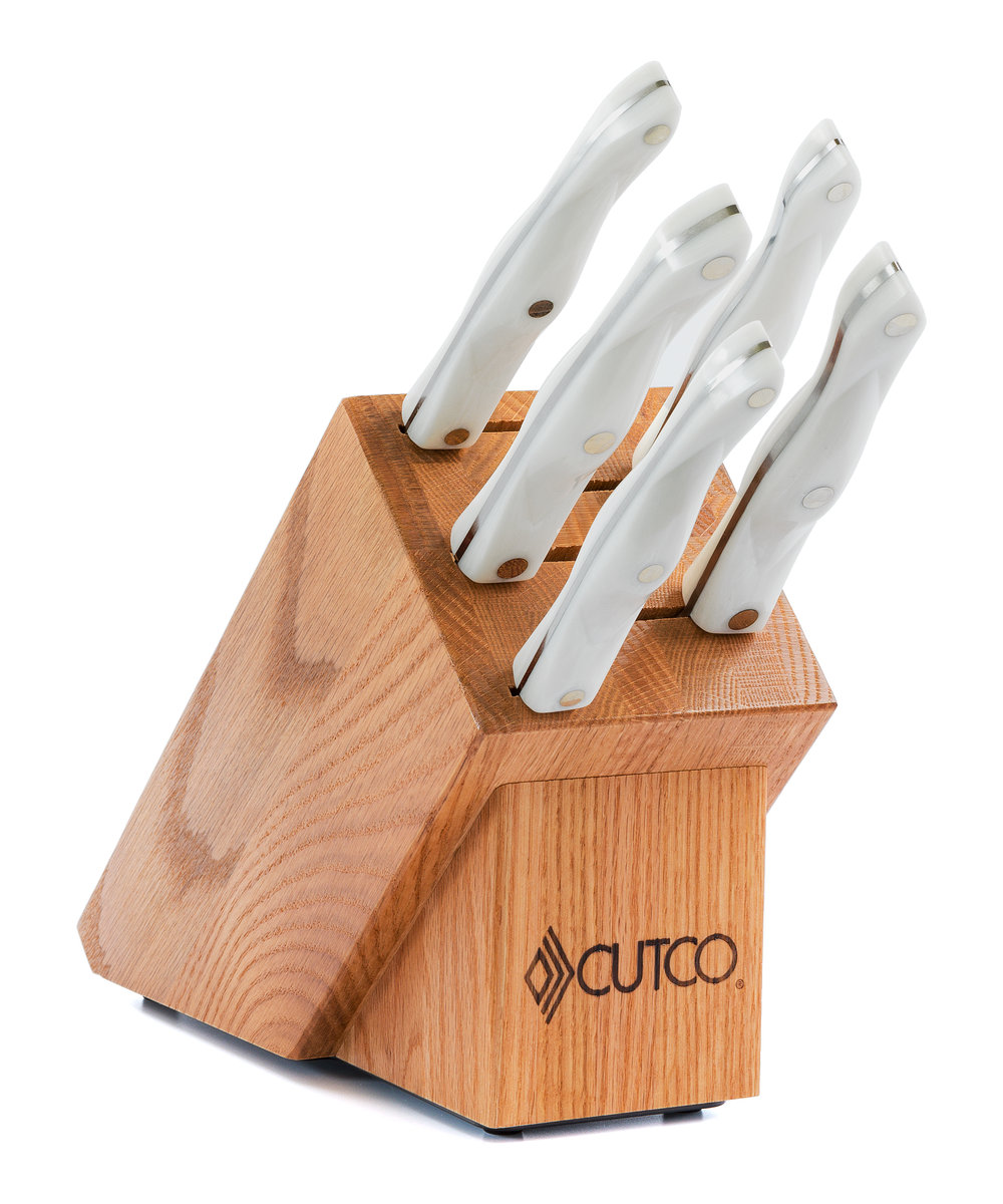 gourmet set with block 7 pieces knife block sets by cutco wmf grand gourmet kitchen knives
