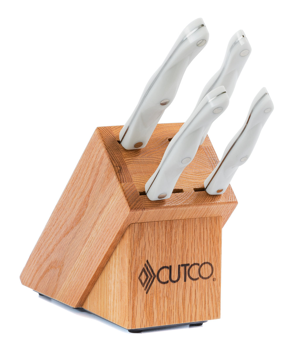 studio set with block 6 pieces knife block sets by cutco studio set with block