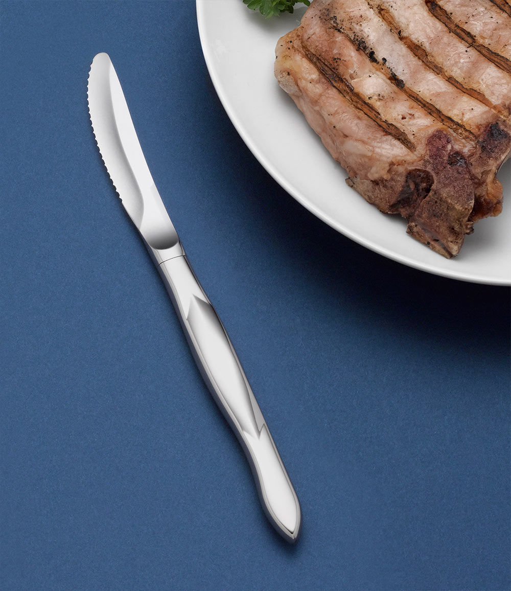 stainless table knife single