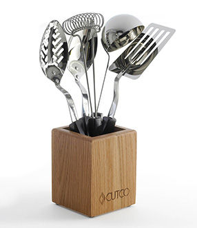 5-Pc. Kitchen Tool Set with Holder