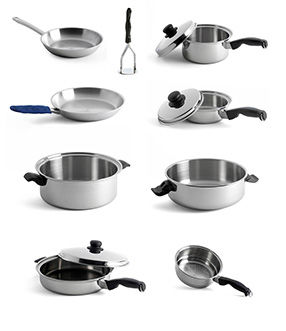 Dedicated Chef Cookware Set