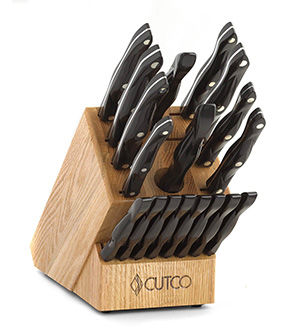 Knife sets by cutco homemaker 8 set with block w petite chef teraionfo
