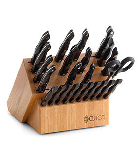 Santoku-Style Signature Set with Block