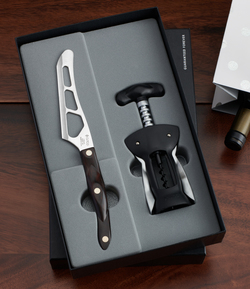 Wine & Cheese Set in Gift Box