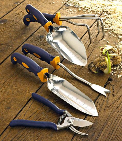 5 Pc Garden Tool Set W Free Garden Bag Garden Tools By
