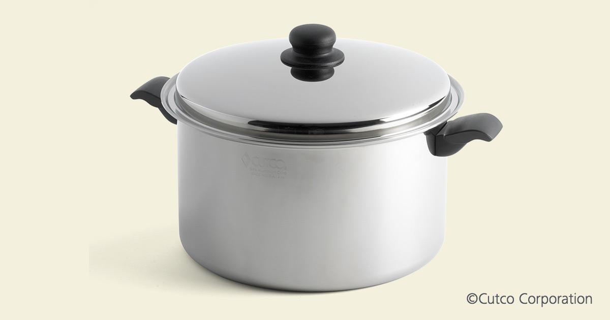 10 Qt Stock Pot Amp Cover Cookware By Cutco