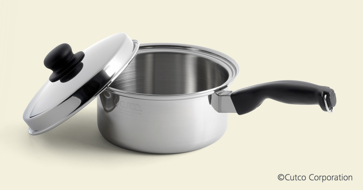 3 Qt Sauce Pan Amp Cover Cookware By Cutco