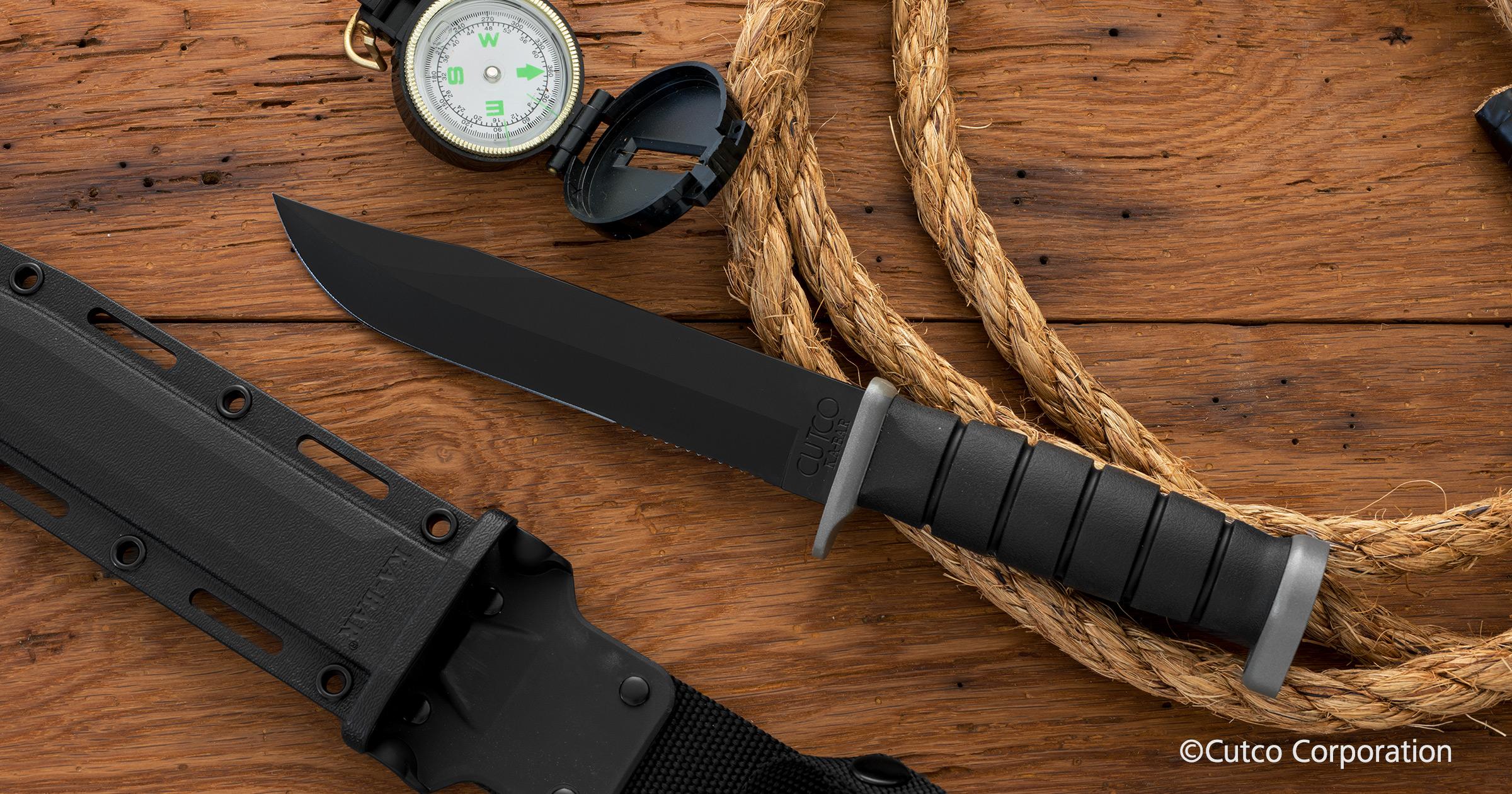 Cutco 174 Ka Bar 174 Explorer Sporting Knives By Cutco