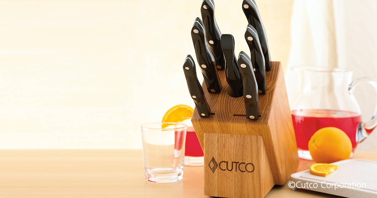 Galley Set With Block 9 Pieces Knife Block Sets By Cutco