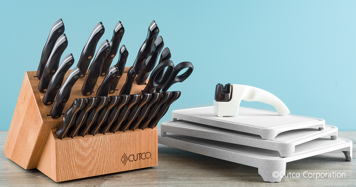 Signature Set With Steak Knives With Block 29 Pieces