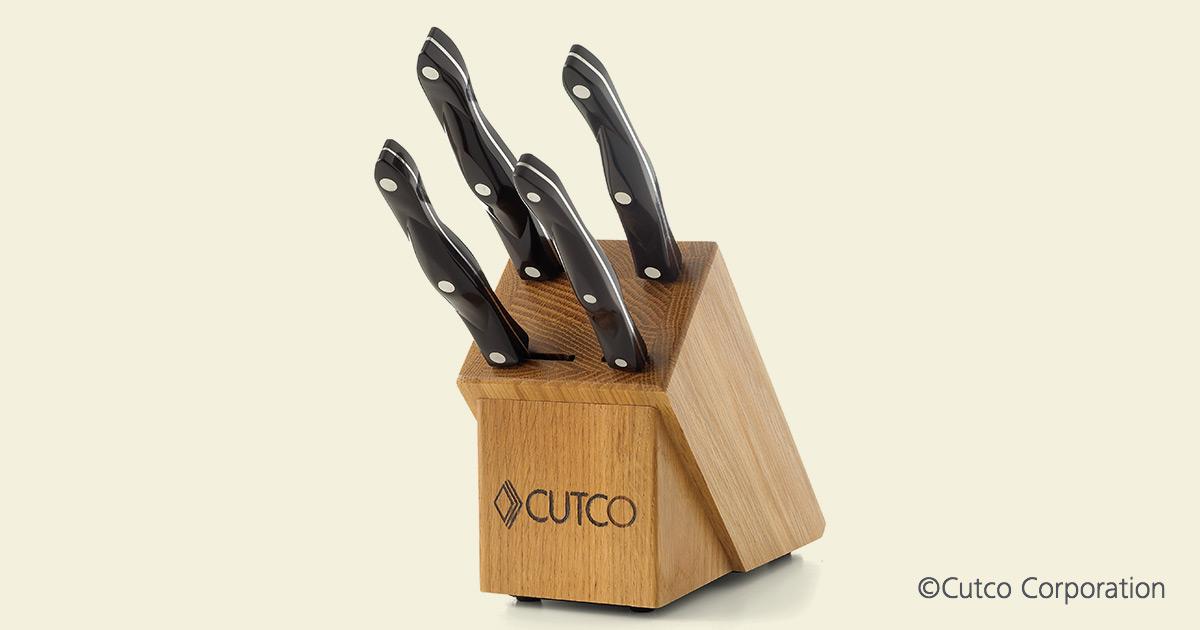 Studio Set Block 4 Slot Knife Block Sets By Cutco
